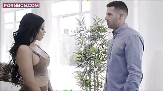 COCK ADDICTION 4K Young straight appraiser fucking hardcore anal with milf latina recently divorced Kevin White & Canela Skin by PORNBCN