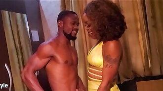 Oga Bang and hot Naija Beauty went crazy fucking ergo hard.