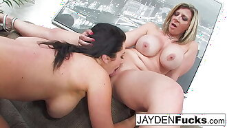 Busty Jayden Jaymes And Sara Jay Fuck Each Other Silly