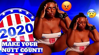 After I took My booty to the polls, this happens. 2020 Election Girlfriend Imani Seduction SQUIRTING Reaction Video
