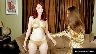 Sex Bot Kendra James Eat Pussy With Lesbo Owner Abigail Mac!
